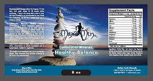 Mother Earth Minerals Healthy Balance