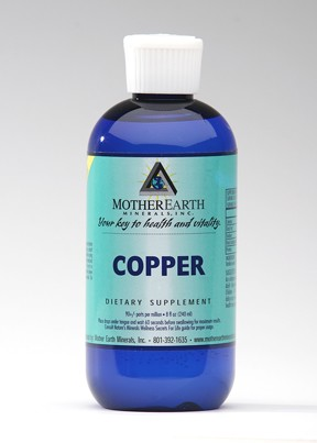 Mother Earth Minerals Copper 8 OZ
