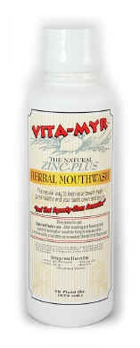 Vita-Myr Natural Mouthwash - 16 oz