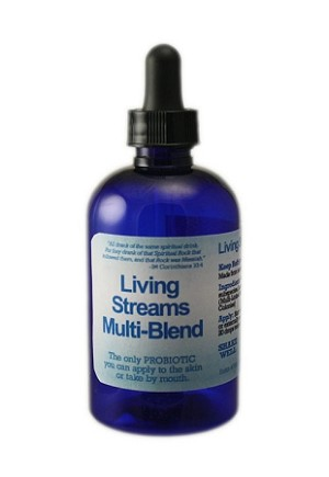 Living Streams Multi-Blend Probiotic - 8oz
