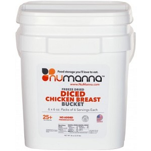 Numanna Freeze Dried Diced Chicken Breast