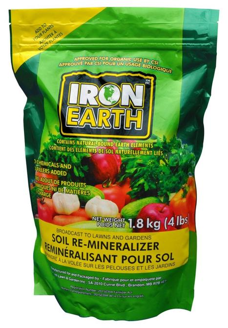 IRON EARTH™ Soil Re-mineralizer 0.5 LBS