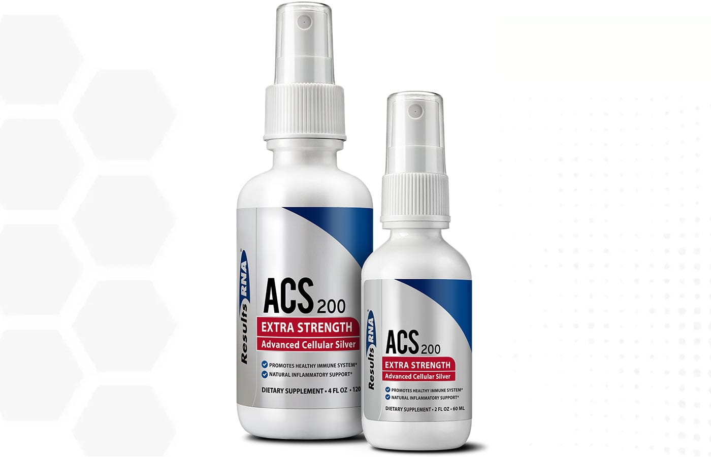 Results RNA ACS 200 Extra Strength Colloidal Silver