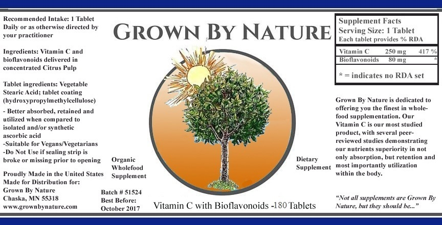 Vitamin C + Bioflavonoids Re-Natured® - 60 CT