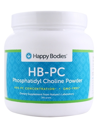 Happy Bodies HB-PC Phosphatidyl Choline-40%, 300 g