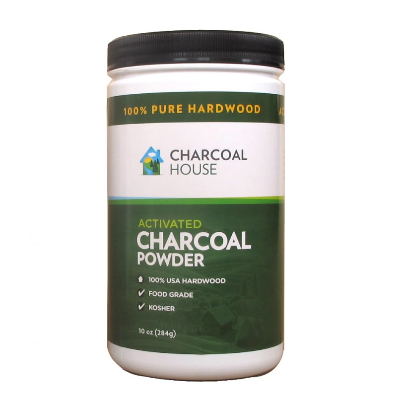 Activated Charcoal Powder - 1 qt. jar