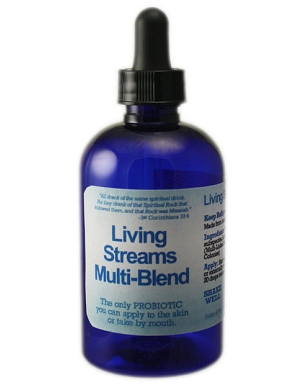 Living Streams Multi-Blend Liquid Probiotic - 4 oz