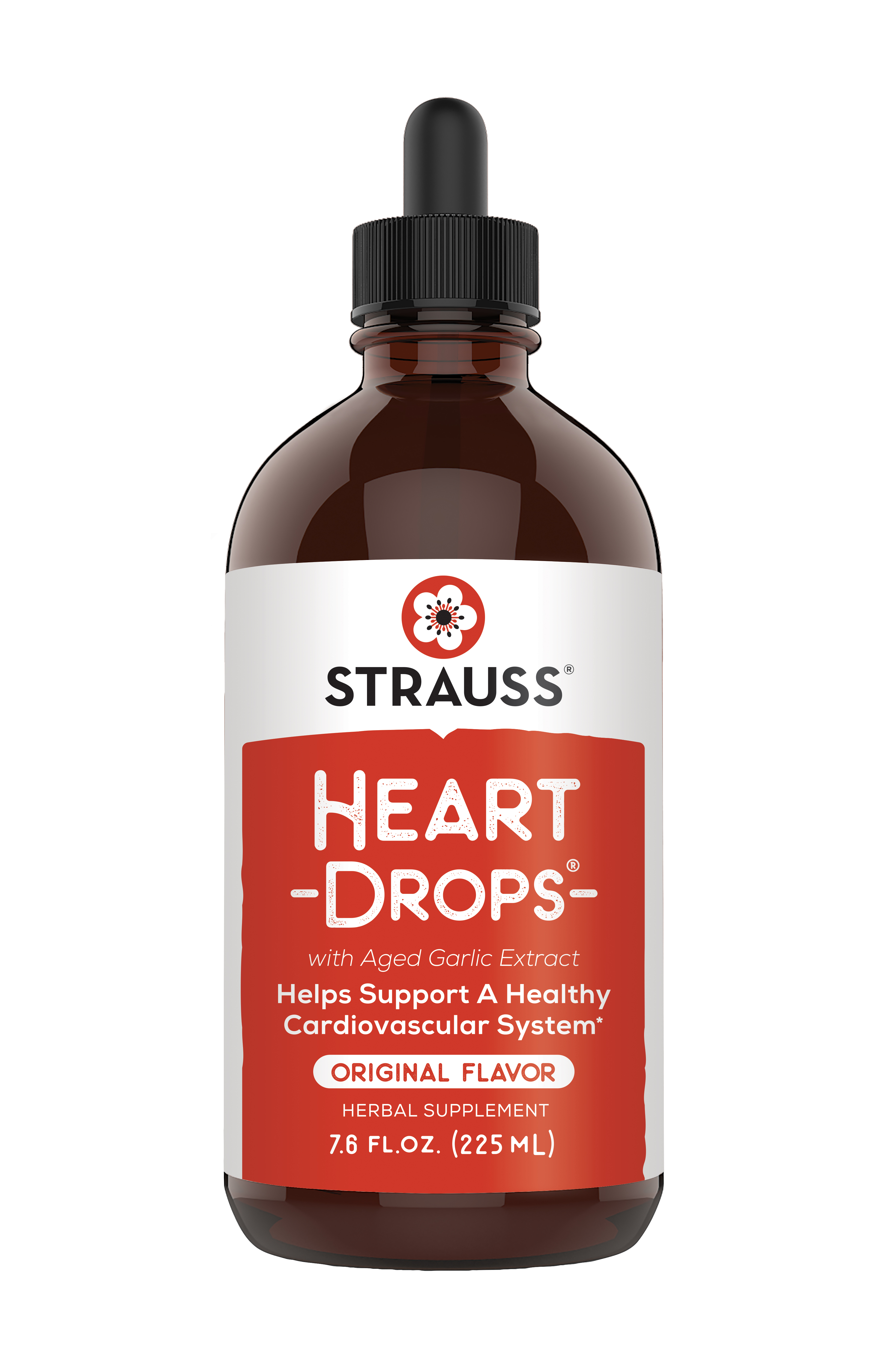 Strauss Heartdrops - 7.6 fl oz