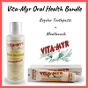 Vita-Myr Oral Health Bundle w/ Regular Toothpaste