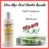 Vita-Myr Oral Health Bundle w/ CoQ10 Toothpaste