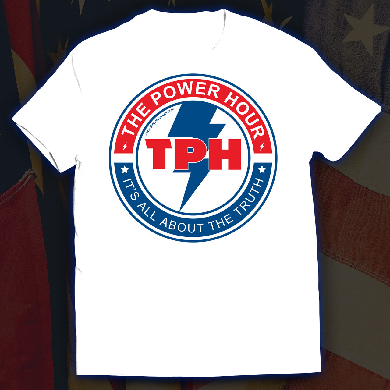 Power Hour T-Shirt (White)