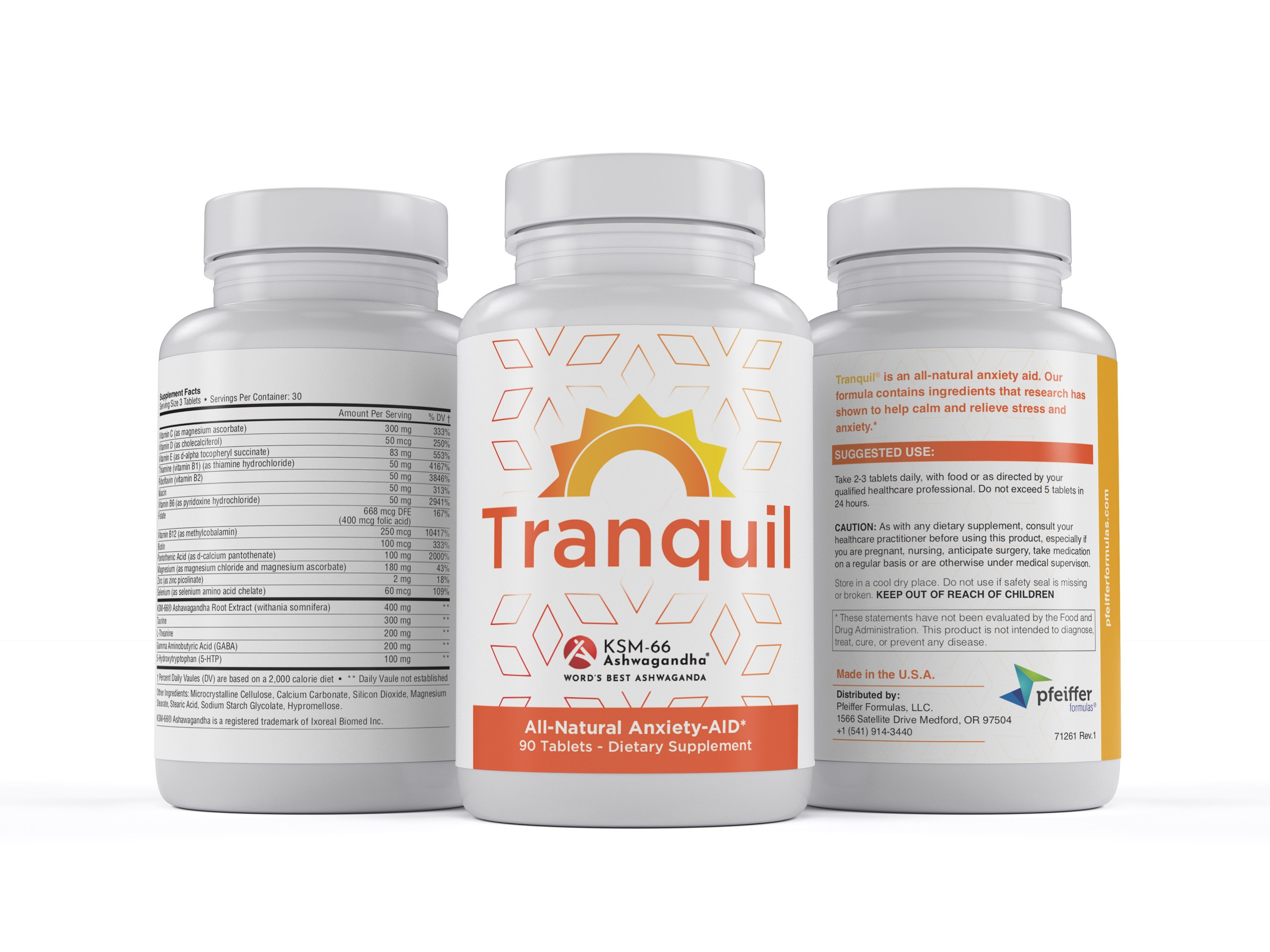 Tranquil - 90 Tablets