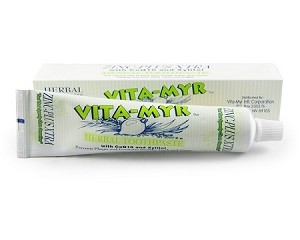 Vita-Myr Zinc - Plus XTRA Toothpaste with Xylitol & Co Q10 - 5.4 oz